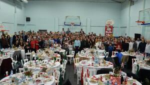Banvit Basketbol ailesi yeni yıl yemeğinde buluştu