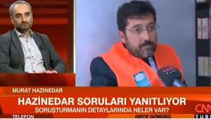 İsmail Saymazla görevden alınan Murat Hazinedar arasında gergin anlar: Ben sizin basın danışmanınız değilim