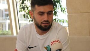 (ÖZEL) Teleset Mobilya Akhisarsporlu Ömer Bayram: Hedefim 4 büyük takımın birinde oynamak