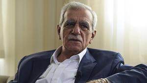 HDPnin başına gelecek mi Ahmet Türk noktayı koydu