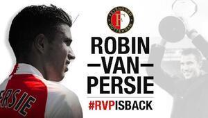 Robin van Persie resmen Feyenoordda