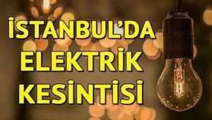 İstanbulun pek çok ilçesinde elektrik kesintisi yaşanıyor - Elektrikler ne zaman gelecek