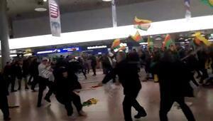 Almanya, PKK yandaşı göstericilerin havaalanına nasıl girdiğini açıklayamadı