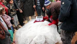 Kazada ölen 9 kişi, Gaziantepte yan yana toprağa verildi