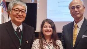 İnternette çalışarak öğrendiği Japoncaya Japon Başkonsolos hayran kaldı