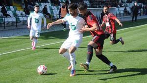 Yeşil Bursa - Anagold 24Erzincanspor: 0-0