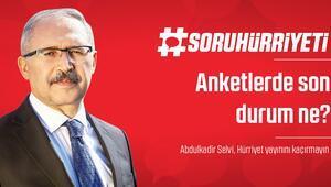 #SoruHürriyeti - Anketlerde son durum ne