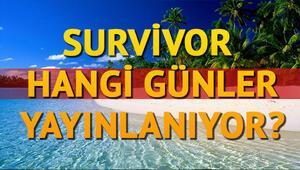 Survivor 2018 hangi günler yayınlanıyor Survivor bu akşam neden yok Tv8 yayın akışı