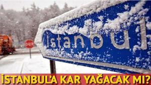 Hafta sonu hava nasıl olacak İstanbula kar yağacak mı