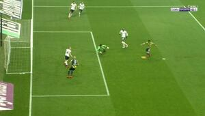 Derbiye damga vuran gol Ofsayt tartışması...