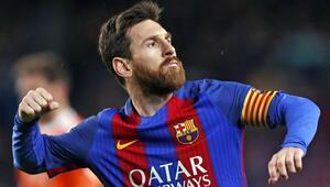 Messi rekora doymuyor 600ler kulübüne girdi