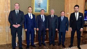 Marmaris Belediye Başkanı Acar, Tataristan Cumhurbaşkanıyla görüştü