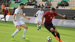 (Geniş haber) Ümit Milli Takım, Maltayı rahat geçti