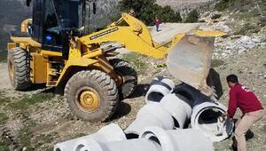 Büyükşehir Belediyesi Kaşpazarı yol yapımına başladı