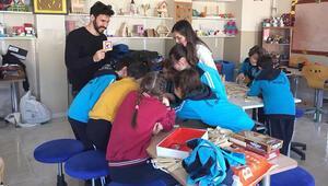 TOSPA'dan çocuklara akıl oyunu