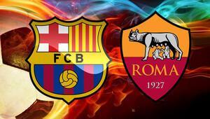 Roma Barcelona Şampiyonlar Ligi maçı bu akşam saat kaçta hangi kanalda canlı yayınlanacak Cengiz Ünder oynayacak mı