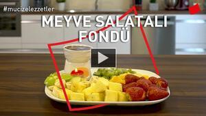 Meyve Salatalı Fondü