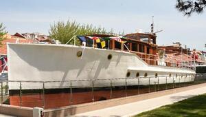Atatürkün gezi teknesi, M/G Acar müze olarak ziyarete açıldı