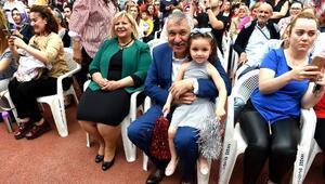 Seyhan'da erken 23 Nisan kutlaması