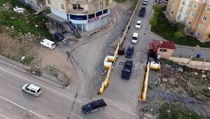Şırnakta drone destekli uyuşturucu operasyonu