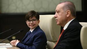 Çocuk Cumhurbaşkanı Fatih Mintaş oldu
