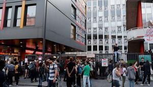 Fransada bir üniversiteye daha polis operasyonu