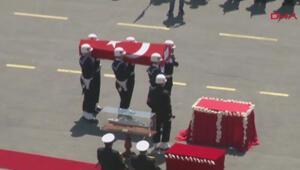 Özden Örnek için Kuzey Deniz Saha Komutanlığında tören