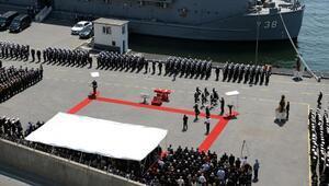 Özden Örnek Kuzey Deniz Saha Komutanlığında tören ören düzenlendi