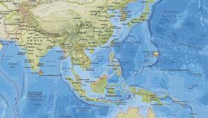 Pasifik Okyanusundaki Mariana Adalarında 7.0 büyüklüğünde deprem