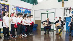 İngiliz okulunda 23 Nisan kutlaması