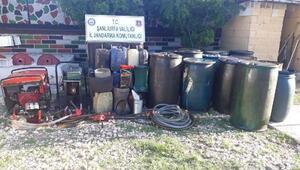 Şanlıurfada petrol hattından hırsızlığa 39 gözaltı