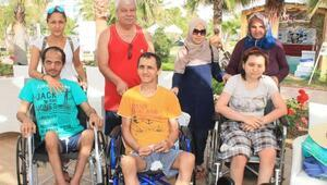 Engellilere 5 yıldızlı tatil