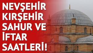 Nevşehir ve Kırşehir'de ilk sahur ve iftar saat kaçta 2018 imsakiye bilgileri