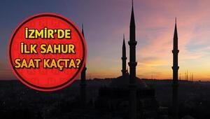 İzmirde ilk sahura kaçta kalkılacak 2018 İzmir sahur vakitleri