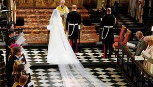 Yılın düğünü: Prens Harry ve Meghan Markle evlendi