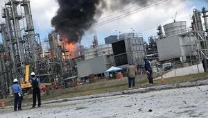 ABDde kimyasal üretim yapan fabrikada patlama