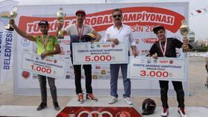 Türkiyenin ilk Motosiklet Akrobasi Şampiyonası tamamlandı