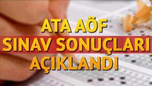 ATA AÖF final sınavı sonuçları açıklandı