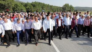 Antalya- Muğlayı bağlayan köprü açıldı