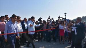 Muğla ve Antalya büyükşehir belediyelerinin ortak yaptırdığı köprü açıldı