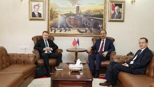 Avustralyanın Ankara Büyükelçisi Brown Şanlıurfada