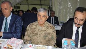 Jandarma Genel Komutanı Orgeneral Çetin Çankırıda iftar yaptı
