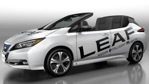 Nissandan üstü açılır yepyeni otomobil: Nissan LEAF
