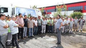 DİSK Başkanı Aybar: Manavgatta işçilerin maaşları ödeniyor