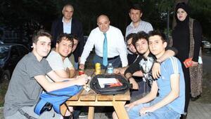 MHP milletvekili adayı Şahinden STK ziyaretleri