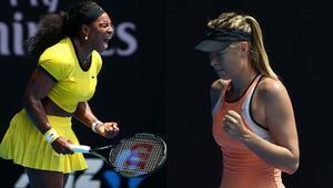 Serena Williams Maria Sharapova maçı saat kaçta hangi kanalda Teniste erken final