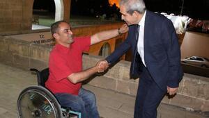 Başkan Demirkoldan engellilere ziyaret