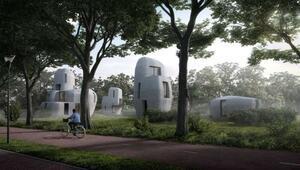 Hollanda dünyanın ilk yaşanabilir 3 boyutlu baskı evlerini yapıyor
