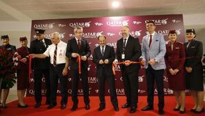 Doha- Antalya direkt uçuşları başladı (2)