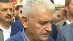 Başbakan Suruçta konuştu:Bu tesadüfen gelişen bir olay olduğu izlenimi vermiyor